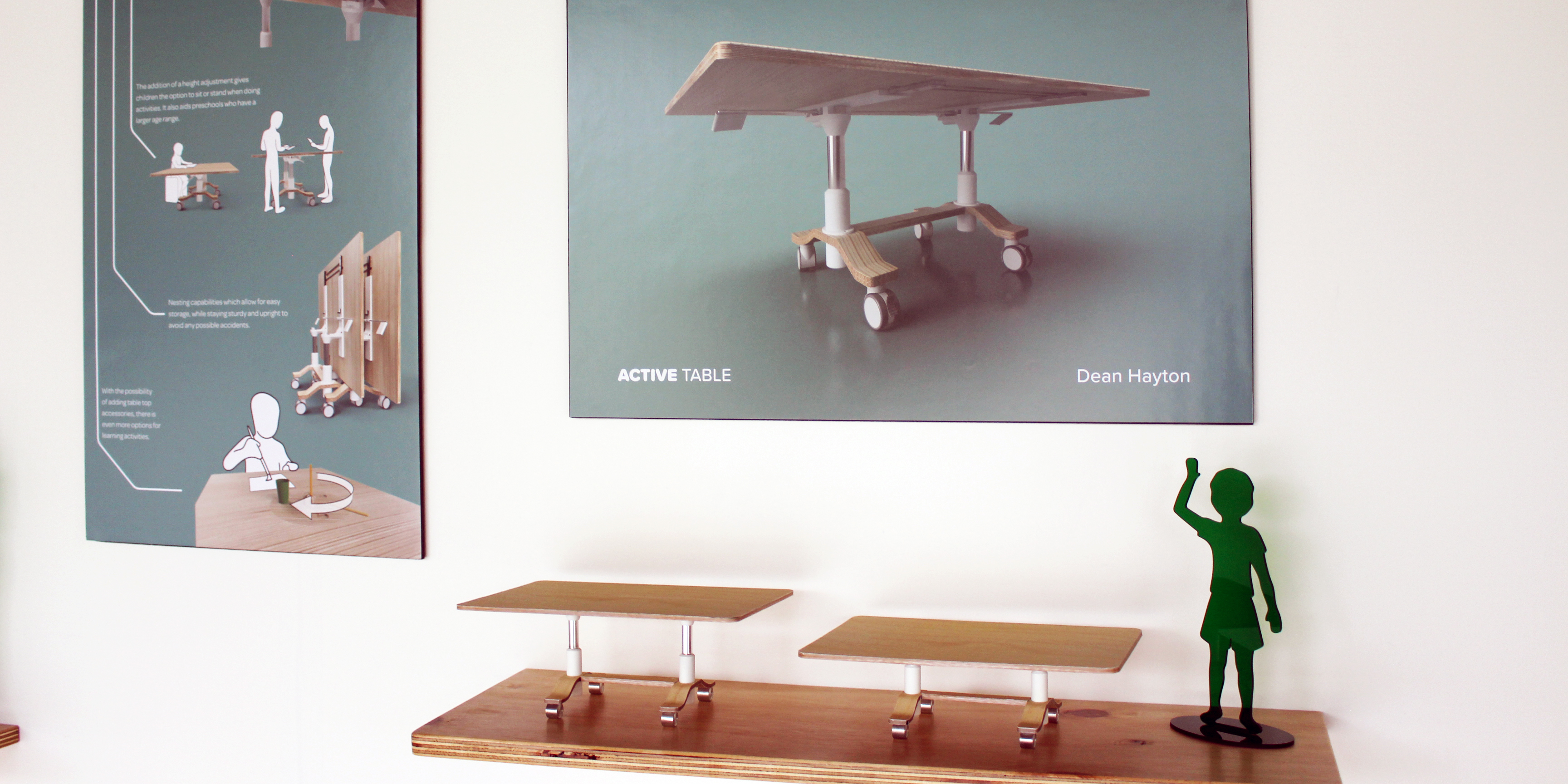 exhibition photo of 'Active  Table'